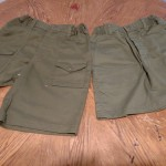 Older style shorts. They are all new. Sizes range from a 22 to 36 inch waist. $5 a pair.  Rebecca Nielsen rlnielsen@mpsomaha.org