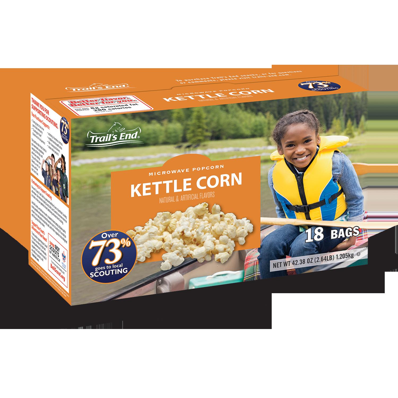 Microwavable Kettle Corn
