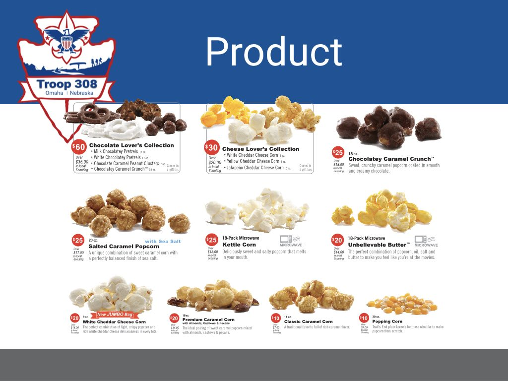 2019 Popcorn Products